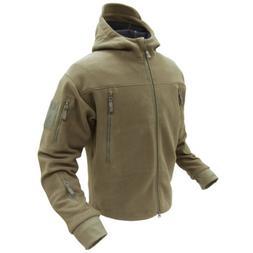 Condor Seirra Hooded Fleece Jacket - X-Large - Tan