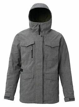 Burton Men's Shell Covert Jacket, Bog Heather, Large