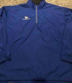 New Balance Size XL Light Full Zip Blue Rain Jacket Windbrea