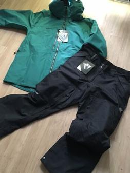 Ski And Snowboard Jacket Pants Set Mens 2XL Homeschool RECCO