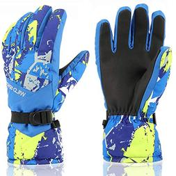 Ski Gloves,RunRRIn Winter Warmest Waterproof and Breathable