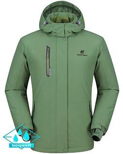 CAMEL CROWN Ski Jacket Men Waterproof Warm Cotton Winter Sno