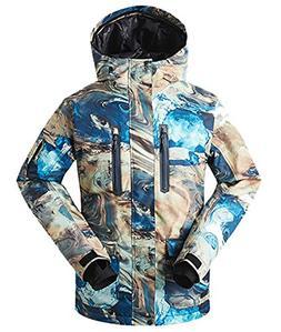 APTRO Men's Skiing Jacket Waterproof Windproof Breathable Sn