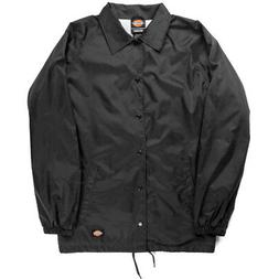 Dickies Snap Front Lined Windbreaker Men's Nylon Coaches Jac