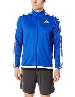 adidas Men's Soccer Tiro 15 Training Jacket, Bold Blue/White