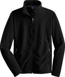 Port Authority Men's Soft Fleece Warm Jacket, Black, XXXXX-L