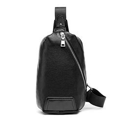 iVotre Soft pu Leather Cross Body Bag for Men ,Teens, Boys,