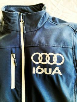 AUDI soft shell jacket, New with tags. Men's L