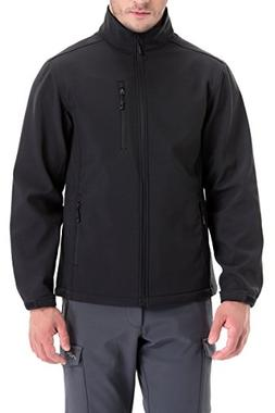 Trailside Supply Co. Men's Softshell Jacket Zip-Front Flee