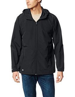 Dickies Men's Performance Softshell Light Jacket, Black, Med