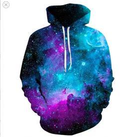 Space Galaxy <font><b>Hoodies</b></font> <font><b>Men</b></f