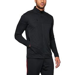 Under Armour Men's Sportstyle Pique Jacket, Black /Black, Me