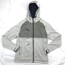 Nike Sportswear Advance 15 Full Zip Hoodie Grey Black White