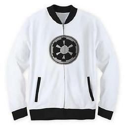 Star Wars Disney Parks Exclusive Galactic Empire White Zip T