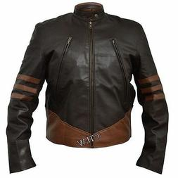 STOCK CLEARANCE 60% OFF, XO Wolverine X-Men Leather Jacket
