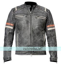 STOCK CLEARANCE 60%,Retro 2 : Men Vintage Motorcycle Distres