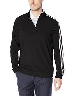 Adidas Golf 2016 Men's 3-Stripe 1/4 Zip Long Sleeve Top