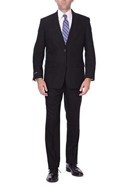 P&L Men's Suit Classic Fit Blazer Jacket Tux Vest & Flat Pan