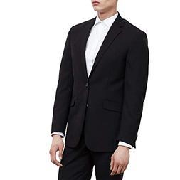 Calvin Klein Men's Black Suit Separates