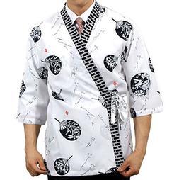 sushi chef coat jacket women men uniform chefwear clothing j
