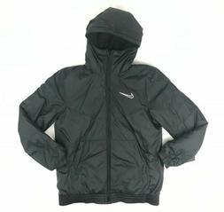 synthetic fill down jacket full zip bomber