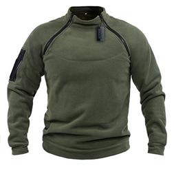 ZAPT Tactical Fleece Jacket Military Polartec Thermal Pro Th