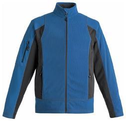 Ash City Men's Generate Men's Textured Fleece Jacket, M, Nau