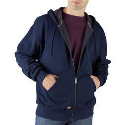 Dickies Men's Thermal Lined Fleece Jacket, Dark Navy, XX-Lar