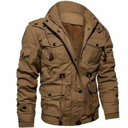 Thick Winter Fleece Jackets Men Military Tactical Army Jacke