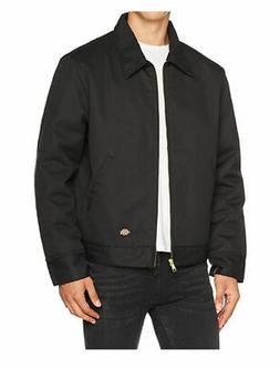 Dickies TJ15BKXXL Black Lined Eisenhower Jacket - Extra Extr