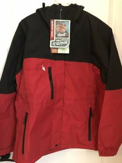 Frogg Toggs Toad-Rage Jacket Red/Black Small S NWT