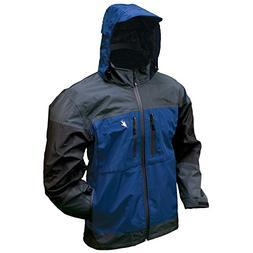 Frogg Toggs Men's Anura 3-Tone Jacket, Dust Blue/Slate/Black