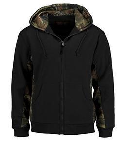 c2f9d7e85edb6 Trail Crest Men's Camo Zip Full Zip Up ... By TrailCrest. USD $42.90. Trail  Crest Men's Sherpa Lined Camo Hooded Jacket ...