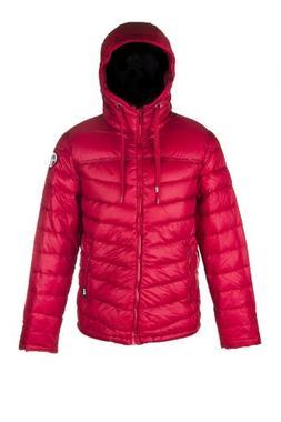 Pajar Men's TRAVIS packable Down Jacket, RED, L