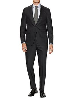 Gino Valentino Men's Two Button Jacket Flat Front Pants Mode