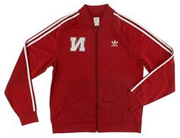 Adidas University of Nebraska Legacy Track Jacket L Power Re