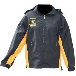 Mitchell Proffitt Men's US Army Fleece Jacket Reversible XL