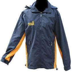 US Navy Jacket Reversible Detachable Hood - Fleece and Nylon
