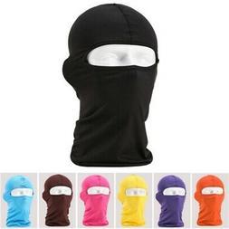 US Men Cotton Ski Full Face Mask Cap Motorcycle Thermal Bala