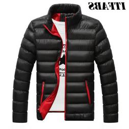 Men's Winter Warm Down Coat Stand Collar light Outerwear J