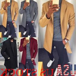 us mens winter warm long wrap cardigan