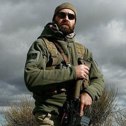 Military Man Fleece Tad Tactical Softshell Jacket <font><b>P
