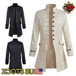 vintage mens steampunk tailcoat jacket gothic victorian