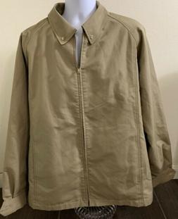 Vintage London Fog Weather of Best Intention Jacket Lined Ta