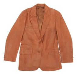 Vtg LONDON FOG Leather Jacket S Small Mens 40 Western Blazer