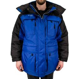 Freeze Defense Warm Men's 3in1 Winter Jacket Coat Parka w/ V