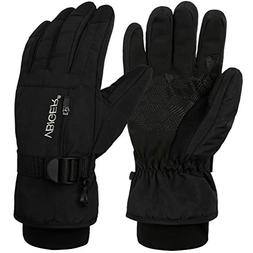 VBG VBIGER Warm Winter Gloves Waterproof Ski Gloves Cold Wea