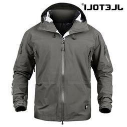 JLETOLI Waterproof <font><b>Jacket</b></font> Windbreaker Wi