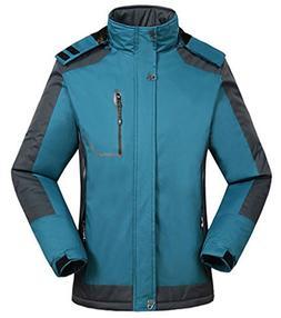 Cloudy Walker Men's Waterproof Mountain Jacket Fleece Windpr