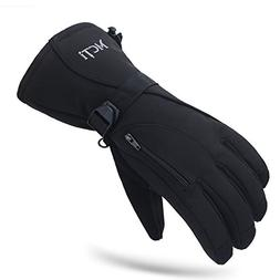 MCTi Waterproof Mens Ski Gloves Winter Warm 3M Thinsulate Sn